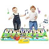 Jenilily Klaviermatte Musikmatte 100 x 36 cm Kindermusik-Tastaturen Spaß Tanzmatte für Kinder -