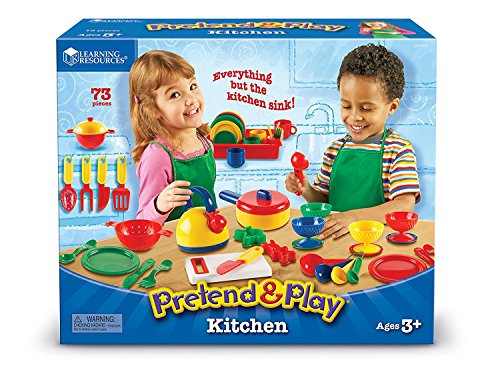 Learning Resources Batterie De Cuisine Pretend & Play De -