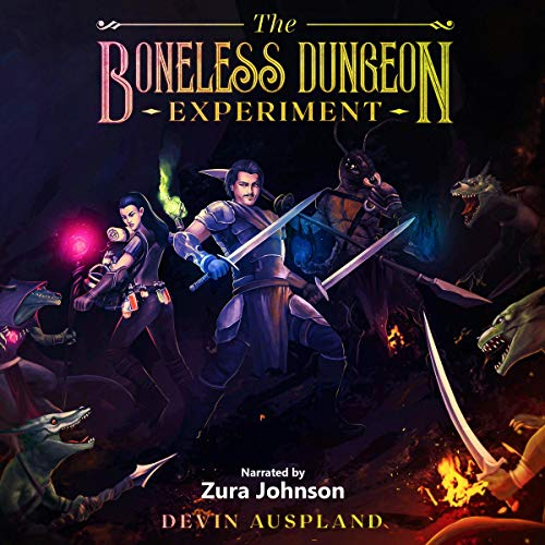 The Boneless Dungeon: Experiment Audiobook By Devin Auspland cover art