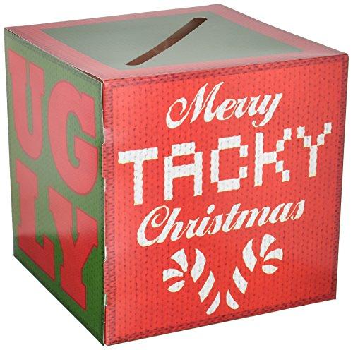 Beistle Ugly Sweater Ballot Box W/Ballots