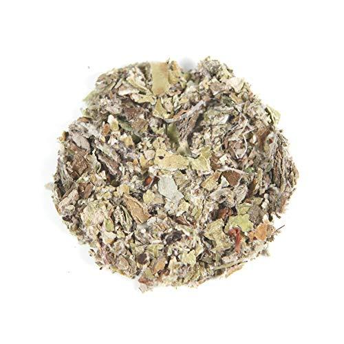 Herbis Natura Huflattichblätter geschnitten, loser Huflattich für Hustentee, Heilpflanze bei Husten, aus kontrolliert biologischem Anbau, tussilago farfara (100)