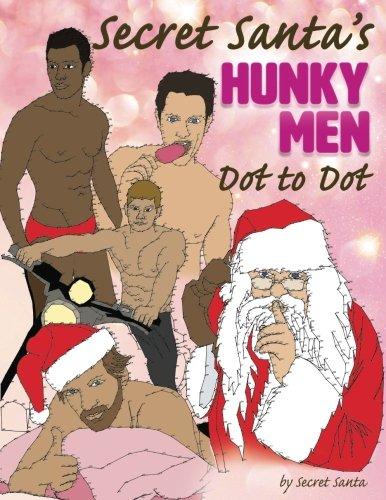 Secret Santa's Hunky Men Dot to Dot