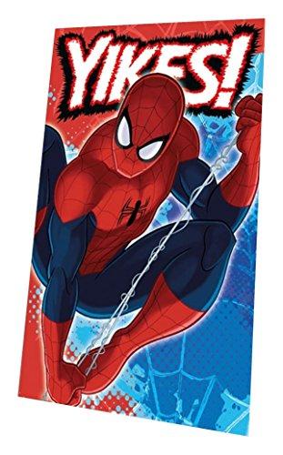 Marvel mv16512150x 100cm Spiderman Polar Fleece Decke