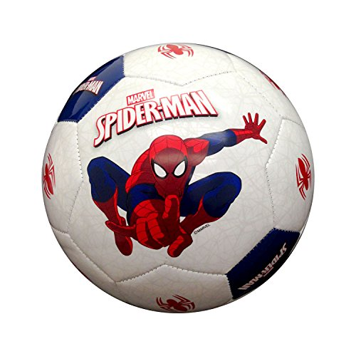 Hello Kitty Sports Spider-Man Soccer Ball, Red/Blue/White, 3