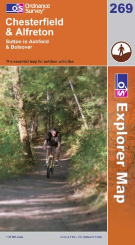 OS Explorer map 269 : Chesterfield & Alfreton