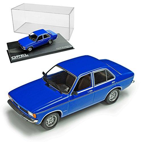 Ixo Opel Kadett C Limousine Blau 1973-1979 Nr 59 1/43 Modell Auto