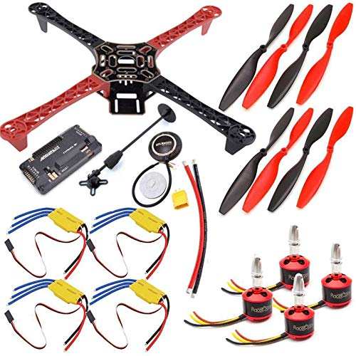 F450 Quadcopter Drone Kit APM2.8 Flight Controller GPS PDB 30A ESC 2212 Motors