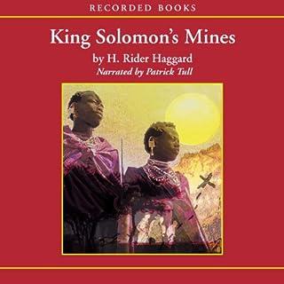 King Solomon's Mines audiobook cover art