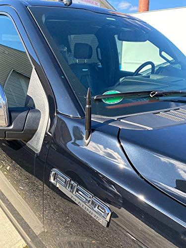 Antenna Mast Bullet Style 50 Caliber for Ford F-150 XL XLT Lariat Platinum Limited Raptor 2009-2021