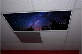 Skypanels Cosmic Forest Replacement Fluorescent Light Diffuser