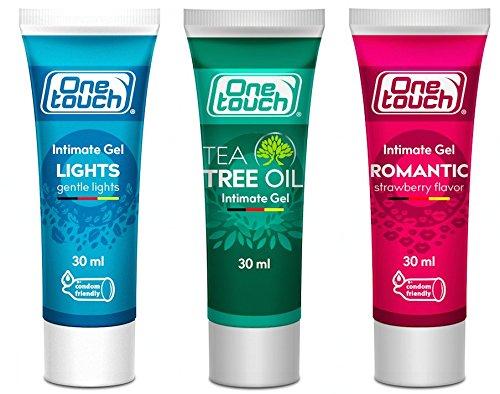 ONE Touch Aqua Gleitgel Set 3x30ml Wasserbasis für gefühlsechtes Empfinden 3er Pack