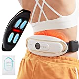 Back Massager for Back Pain, BORIWAT Pulse Electric Back Massager with Heat, Cordless Deep Tissue Muscle Massager for Women Men, Smart Gift for Mom Dad Friend Birthday