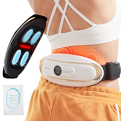 Back Massager for Back Pain, BORIWAT Pulse Electric Back Massager with...