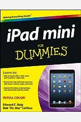 iPad mini For Dummies Paperback