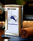 Tommy Bahama Dual Torch Pocket Lighter - Signature and Marlin