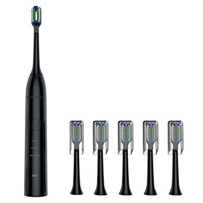 Electric Toothbrush, Wireless Inductive Chargin...