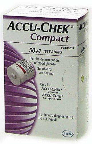 Accu-Chek Compact Test Streifen 50+1