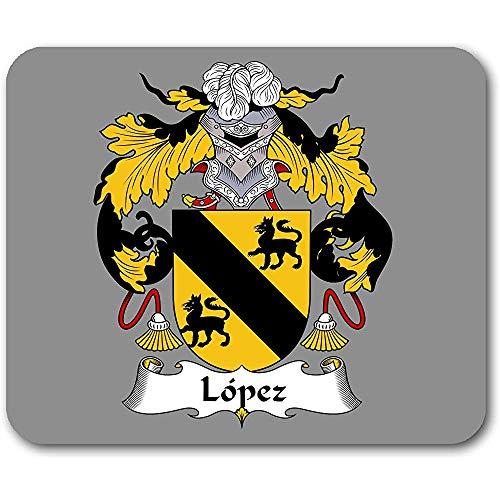 Alfombrilla de ratón del Escudo de Armas de López Alfombrilla De Raton