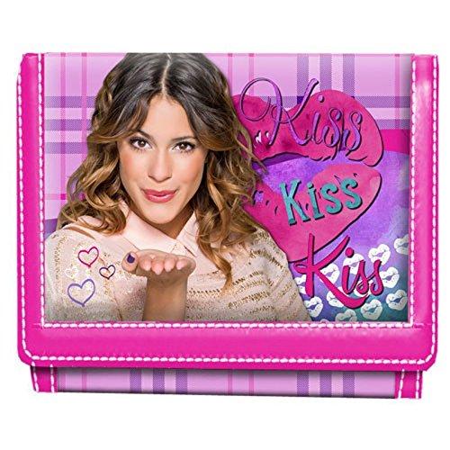 KARACTERMANIA Portemonnaie Violetta Kiss Velcro