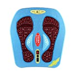 Airser Masseur De Pieds Stimulateur - EMS & Tens, Circulateur pour Les Pieds, Améliore La Circulation, Détend Les Muscles Raides, Soulage La Douleur des Pieds Et des Jambes