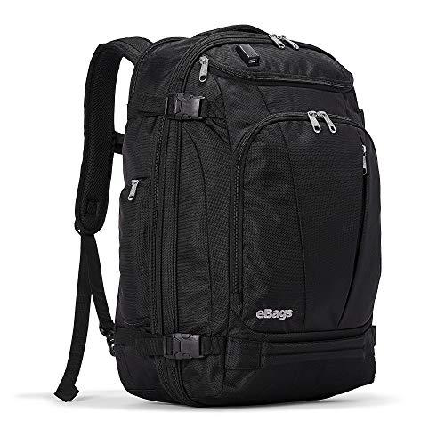 eBags Mother Lode USB Travel Backpack (Black w/USB)