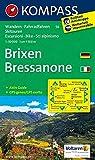 KOMPASS Wanderkarte Brixen /Bressanone: Wanderkarte mit Aktiiv Guide, Radrouten und alpinen Skirouten. Dt. /Ital. GPS-genau. 1:50000 (KOMPASS-Wanderkarten, Band 56) - KOMPASS-Karten GmbH