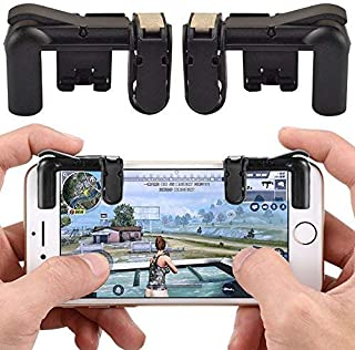 WG Phone Gamepad Trigger Fire Button Aim Key L1R1 Shooter Controller PUBG V3.0 FUT1 for Android Smartphones, Cell Phones, Tablets and Devices,B,M