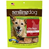 Herbsmith Smiling Dog Treats – Freeze Dried Raw Chicken, Apples & Spinach – 2.5 Ounce