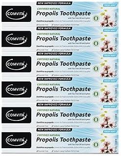 100% ナチュラル プロポリス 歯磨き粉 6個セット PROPOLIS TOOTHPASTE PACK 100g x 6ea [並行輸入品]
