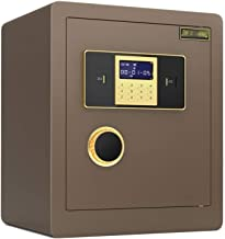 HTTBXG Safes All Steel Anti-Theft Security Safe - 45 cm Large Digital Fireproof & Waterproof Invisible Safe Box with Keypa...