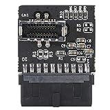 T opiky USB 3.0 - Enchufe Tipo E con Placa Base de Chip Convertidor de encabezado Adaptador de extensión de Montaje en Panel Módulo convertidor