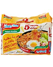 Indomie Spicy Curry Fried Noodles, 5 x 90 g (Pack of 1)