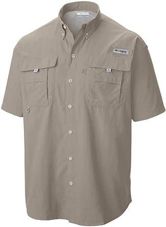Columbia Bahama II Short Sleeve Shirt Fo7047 Camisa de Pesca de Manga Corta, Hombre