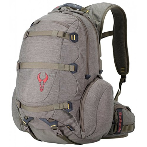 Badlands Superday Hunting Backpack - Rifle and Pistol Compatible, Solid