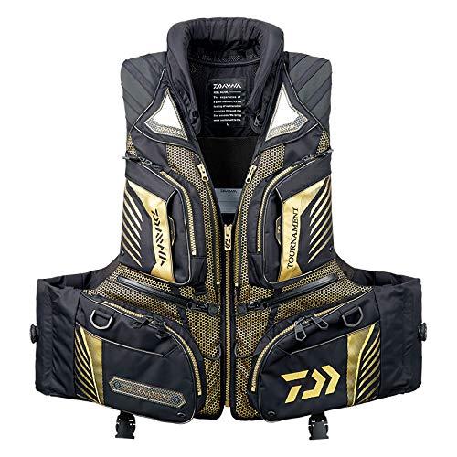 ダイワ(DAIWA) フィッシングベスト トーナメント バリアテック® 枕つきサイバーフロート ブラック M DF-3108T