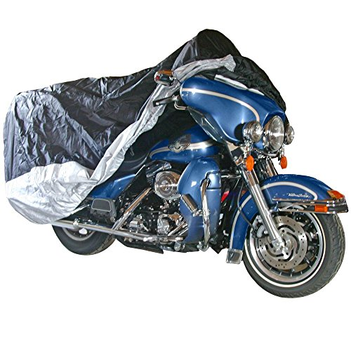 Black Widow Extra Large Deluxe Cruiser & Touring Motorcycle Cover