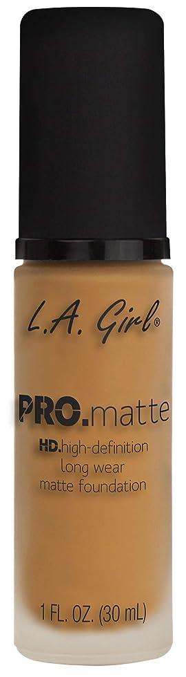 似ているレシピ小数L.A. GIRL Pro Matte Foundation - Espresso (並行輸入品)