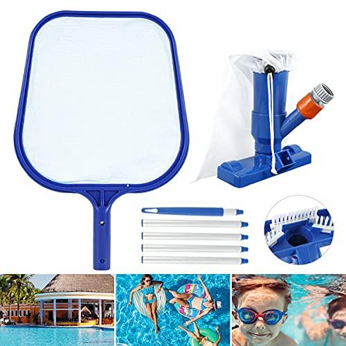 Xyyy Kit de limpieza de piscina, accesorios de limpieza de piscinas desmontables y profesionales, para piscinas y aspiradoras (tamaño: estándar americano)