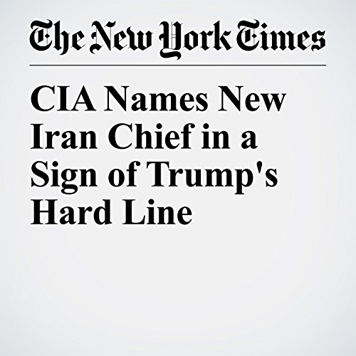 CIA Names New Iran Chief in a Sign of Trump's Hard Line copertina