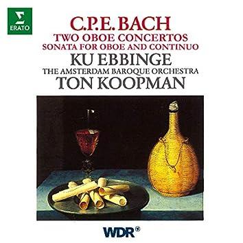 CPE Bach: Oboe Concertos, Wq. 164 & 165, Oboe Sonata, Wq. 135