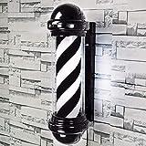 N/A Barbero Encienda la luz Que Ilumina la barbería barbería señal LED Muestra muestras de luz en Barra Peluquero Salon Publicidad luz Encienda el Pelo Claro una luz Suspensión luz Muestra los 73CM