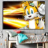 yaoxingfu Puzzle 1000 Piezas Shadow Sonic Hedgehog Dibujos Animados Anime Puzzle 1000 Piezas Adultos Juego de Habilidad para Toda la Familia, Colorido Juego de ubicación.50x75cm(20x30inch)