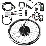 """WYLZLIY-Home Kit de Bicicleta eléctrica KT-LCD6 Kit De Conversión De Bicicleta Eléctrica para Instrumentos LCD 36V 250W 28 """"Kit De Buje De Bicicleta Eléctrica Impermeable A Prueba De Agua"""