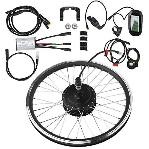 kit bicicletta elettrica Kit Motore Per Bici Elettrica Da 27,5 Pollici 36V 250W Kit Di Conversione Ruote Impermeabili Con Display KT-LCD6 Kit Di Conversione Bici Con Display Accessorio Trasmissione An