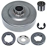 AUMEL 1125 007 1041 Chain Clutch Sprocket Drum Rim Washer Bearing Kit for Stihl MS290 029 MS390 039 MS310 Chainsaw Part w/E-Clip.