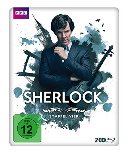 Staffel 4 (Limited Edition Steelbook) [Blu-ray]