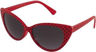 Retro Cateye Classic Style Polka Dot Womens Sunglasses By MJ Boutique