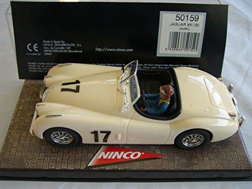 SCX Scalextric Slot Ninco 50159 Jaguar XK - 120 Marfil