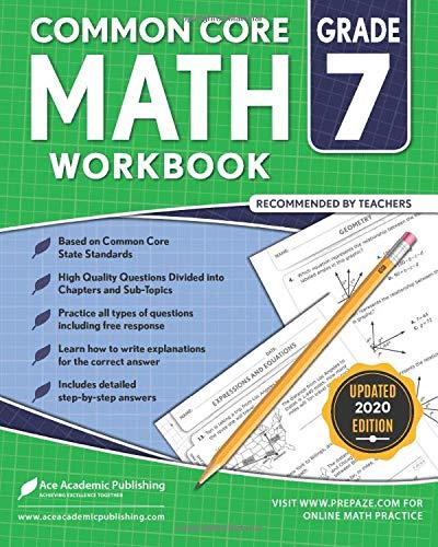 7th Grade Math Workbook: Common Core Math Workbook