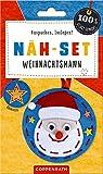 Näh-Set: Filzanhänger Weihnachtsmann (100% selbst gemacht)